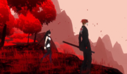 Red Forest Cliffs