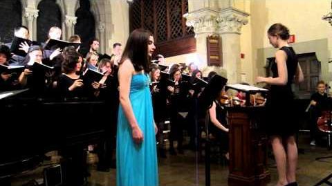 Casey Lee Williams with Berklee VGM Choir
