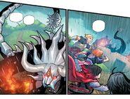 RWBY DC Comics 3 (Chapter 6) Team RNJR spotted Manticore
