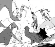 Chapter 18 (2018 manga) JP and SN continues to fight the Grimm
