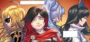 RWBY DC Comics 3 (Chapter 6) Ruby remembering her team