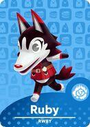 RWBY x Animal Crossing Ruby Rose