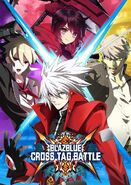 BlazBlue Cross Tag Batlle Art