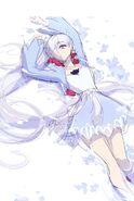 Color illustration sketch of Weiss Schnee by Einlee