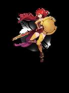 Amity arena character art pyrrha nikos