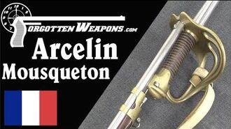 Arcelin Mousqueton An 1850s Breechloader with a Ludicrous Bayonet
