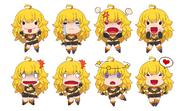 Amity Arena Yang emoticons