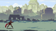 RWBY bilibili Abandon Temple art