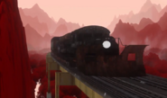 Red Forest Train