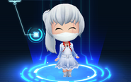 RWBY Crystal Match Weiss Schnee's medical mask