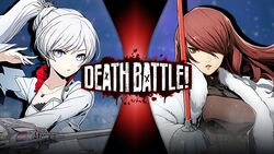 Weiss VS Mitsuru DB