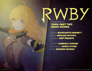 RWBY DC Comics 4 (Chapter 7) introduction cover
