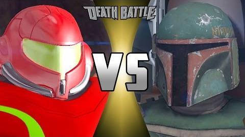 Boba Fett VS Samus Aran Remastered DEATH BATTLE