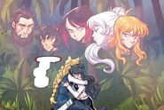 RWBY DC Comics 6 (Chapter 12) Blake embraced Mrs. Clementine after she forgave her