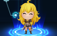 RWBY Crystal Match Yang Xiao Long's default outfit