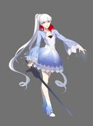 Weiss old concept full portrait