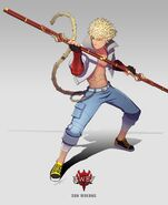Amity Arena character art of Sun Wukong