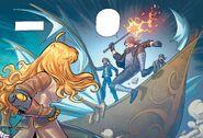 RWBY DC Comics 6 (Chapter 11) Yang enounters Picotee Pirates