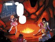RWBY DC Comics 3 (Chapter 6) Team RNJR discuss about the villagers hatred towards Huntsmen