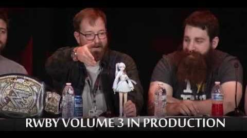 """(Update March 8th) RWBY Volume 3 In """"Planning Stages"""" Confirmed at PAX East"""