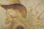 Yang (RWBY Official Japanese Fanbook, Illustration,Hiroyuki Asada)
