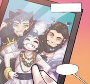 RWBY DC Comics 4 (Chapter 8) A family photo of Blake and her parents