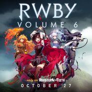 RWBY V6 promotion material of Team RWBY