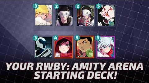 RWBY Amity Arena - Starting Deck Tutorial
