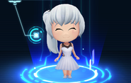 RWBY Crystal Match Weiss Schnee's prom dress
