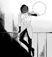 Chapter 5 (2018 manga) Roman lurks in the shadows ploting his next move