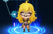 RWBY Crystal Match Yang Xiao Long's goofy glasses