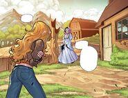 RWBY DC Comics 2 (Chapter 3) Yang meets Madame Mallari