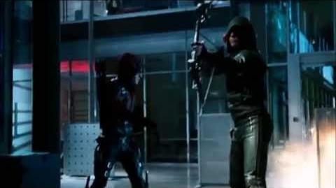 A.R.G.U.S, Arrow, Arsenal and Flash vs Captain Boomerang
