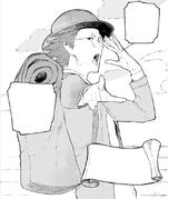 Chapter 14 (2018 manga) Bartholomew Oobleck as pro Huntsman
