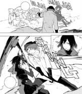 Chapter 18 (2018 manga) Roman's wrath on Ruby and Weiss