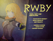 RWBY DC Comics 2 (Chapter 3) introduction cover