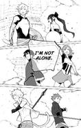 Chapter 19 (2018 manga) Team JNPR, Sun and Neptune during the battle