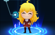 RWBY Crystal Match Yang Xiao Long's Beacon uniform