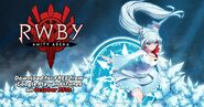 RWBY Amity Arena promotional material of Weiss