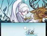 RWBY DC Comics 5 (Chapter 9) Weiss captured a hailstone hind