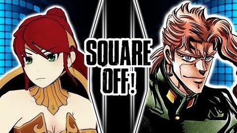 Pyrrha Vs Kakyoin (RWBY Vs JoJo's Bizarre Adventure) Square Off!