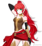 RWBY Mobile Game (Full Game, 2019) Pyrrha Nikos protrait