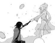 Chapter 3 (2018 manga) Ruby and Weiss finally accept each other as partners