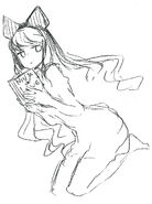 RWBY rough drawing works by Shirow Miwa 08