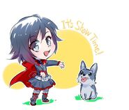 Illustration released of RWBY Chibi Season 1 by Mojojoj