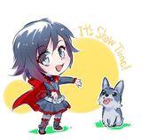 Illustration released of RWBY Chibi Season 1 by Mojojoj