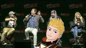 How Jaune got the Haircut - Miles & Kerry Spoil Vol 7 RWBY Panel - NYCC 2019