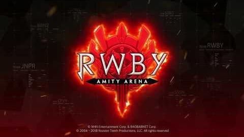 RWBY Amity Arena Pre-Registration Gameplay Trailer
