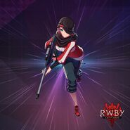 RWBY Amity Arena official design of May Zedong