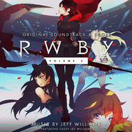 RWBY Vol 3 soundtrack art